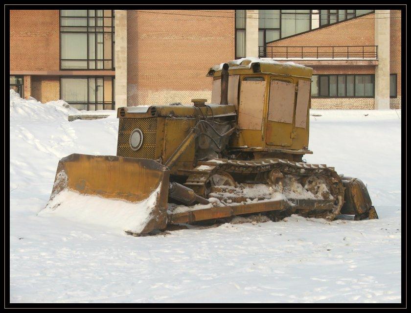 "фото ""Корабль снежной пустыни"" метки: техника,"