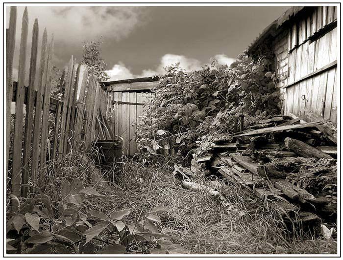 """фото """"...здесь больше никто не живет..."""" метки: пейзаж, лето"""