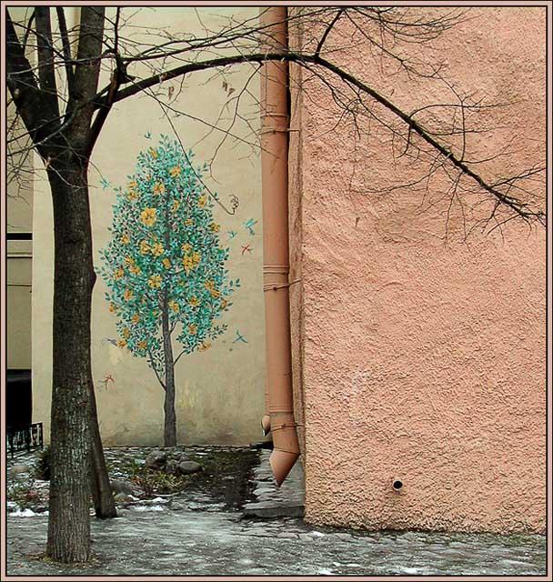 """фото """"Дворовый этюдик"""" метки: архитектура, разное, пейзаж,"""