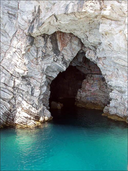 """фото """"Мраморная пещера"""" метки: пейзаж,"""