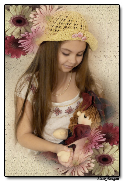 "фото ""Лиля"" метки: портрет, фотомонтаж, дети"