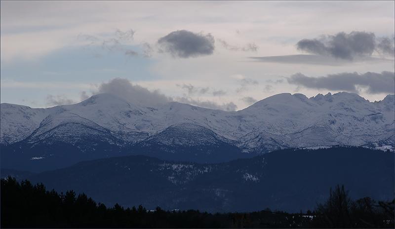 """фото """"Зимние горы"""" метки: пейзаж, горы, зима"""