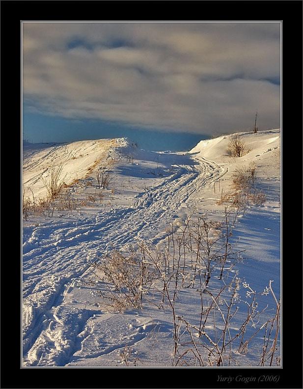 """фото """"Зимняя дорога в небо"""" метки: пейзаж, зима"""