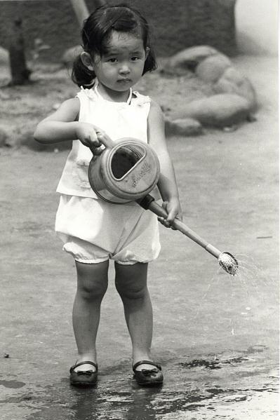 """фото """"Water Girl"""" метки: портрет, черно-белые, дети"""