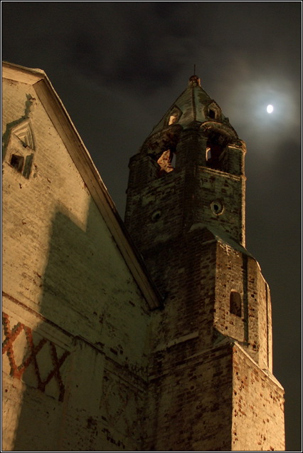 Photo Russian gothic style tags landscape, architecture, night