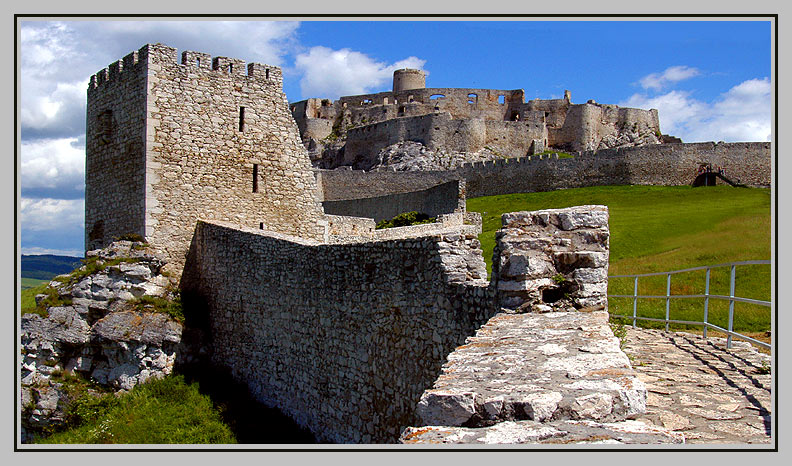 "фото ""Spis Castle - Slovakia"" метки: архитектура, путешествия, пейзаж, Европа"