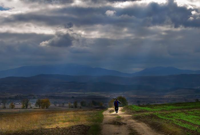 "фото ""The Road To Nowhere"" метки: пейзаж, осень"