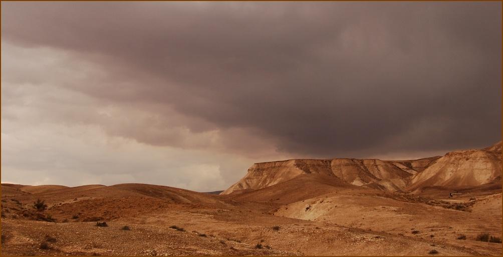 """фото """"Иудейская пустыня перед дождем"""" метки: пейзаж,"""
