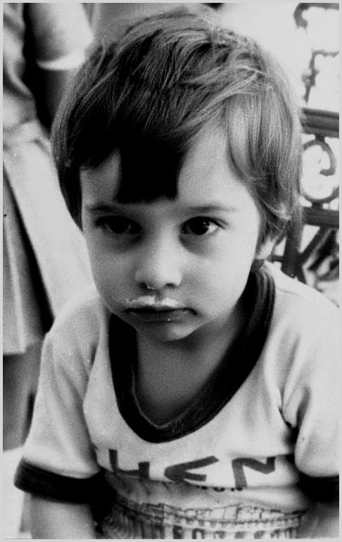 "фото ""Мой син 20 тому назад/My son before 20 years/"" метки: портрет, дети"
