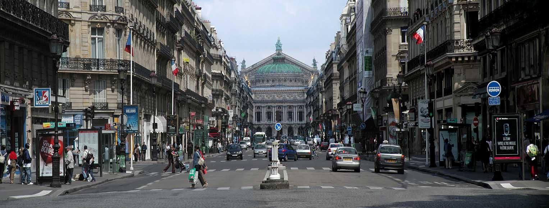 "photo ""Avenue De L'Opera. Paris"" tags: travel, panoramic,"