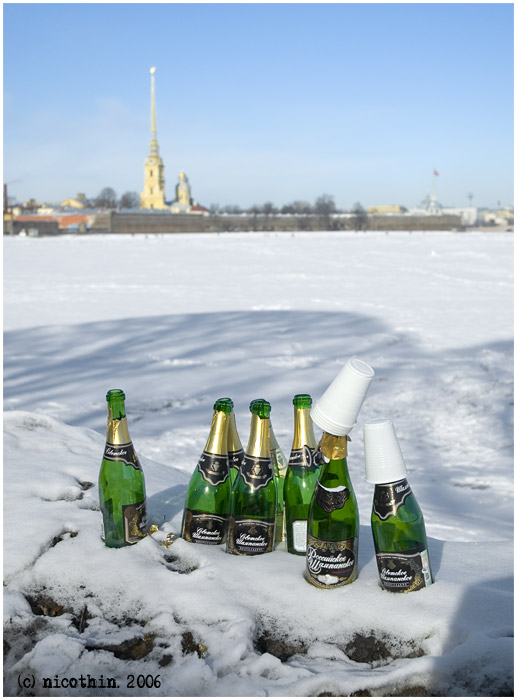 "photo ""The Soviet champagne"" tags: humor, architecture, landscape,"