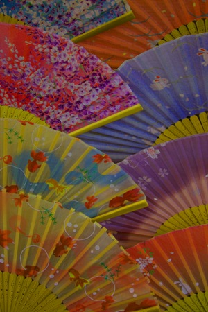"photo ""Fans"" tags: misc., travel, Asia"