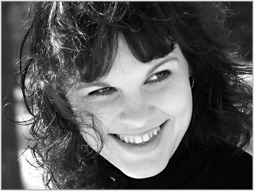 "фото ""За два дня до апреля(ч/б)"" метки: портрет, черно-белые, женщина"