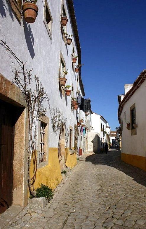 "photo ""Obidos village II"" tags: architecture, landscape,"
