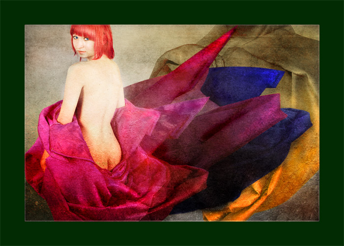 """photo """"Alegory n red"""" tags: montage,"""