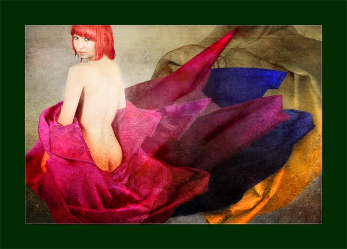 """фото """"Alegory n red"""" метки: фотомонтаж,"""