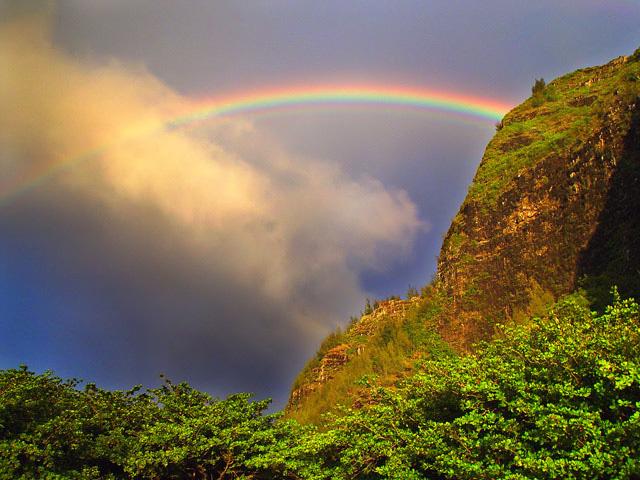 "фото ""Hawaiian Rainbow"" метки: пейзаж, путешествия, закат"