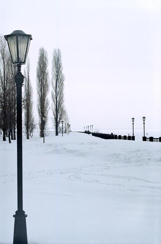 "фото ""Набережная в снегу"" метки: архитектура, пейзаж,"