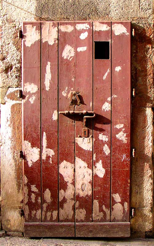 "photo ""One Eye Door"" tags: architecture, abstract, landscape,"