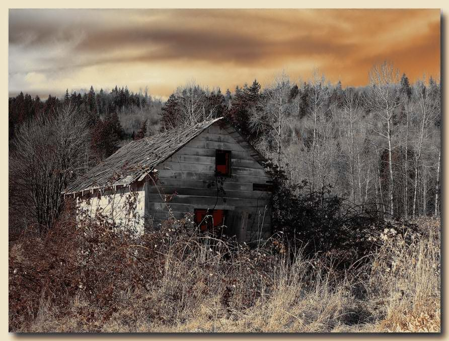 "photo ""House with Spooks"" tags: landscape, travel, North America"