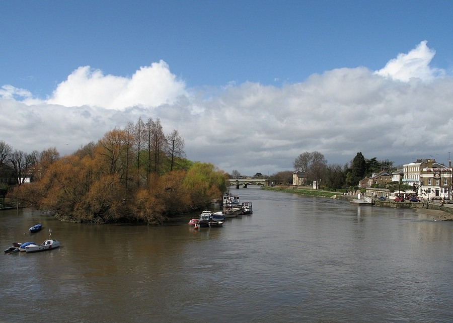 "photo ""Thames in Richmond"" tags: ,"