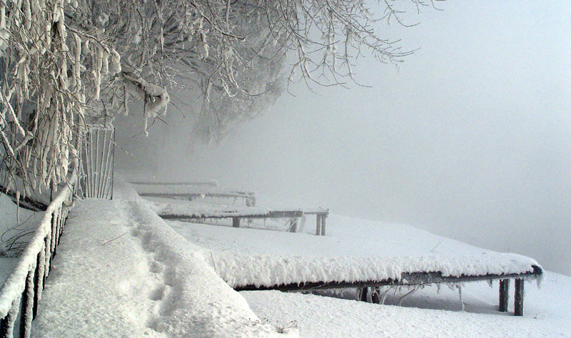 """фото """"Уходящая зима."""" метки: пейзаж, зима"""