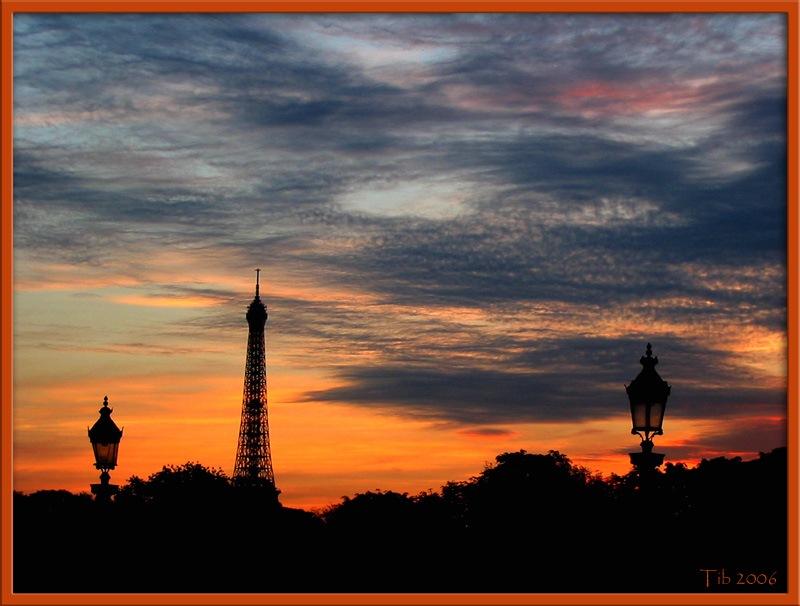 "photo ""Black silhouetes"" tags: travel, landscape, Europe, sunset"