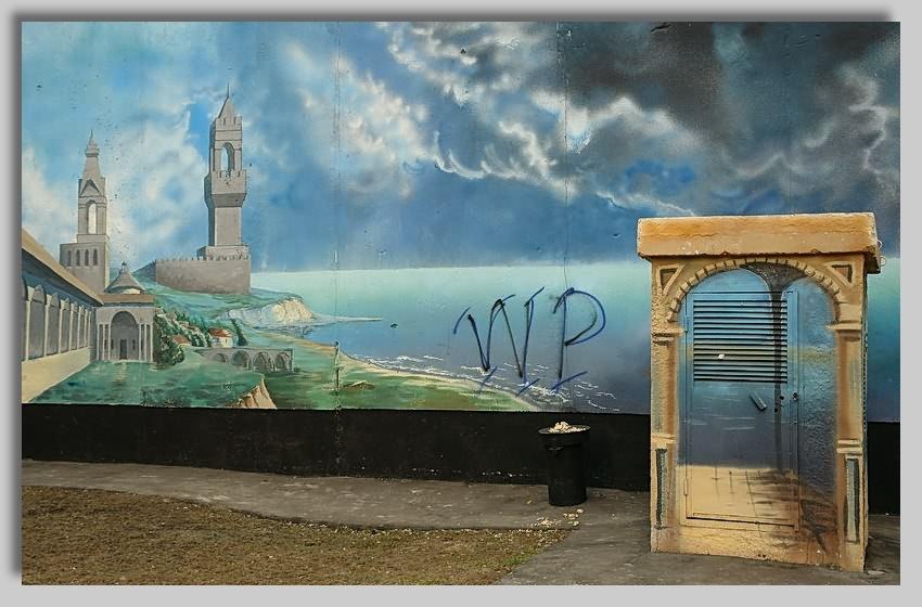 "photo ""City still-life"" tags: still life, architecture, landscape,"
