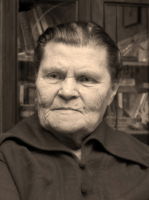 "photo ""My age - my treasures"" tags: portrait, woman"