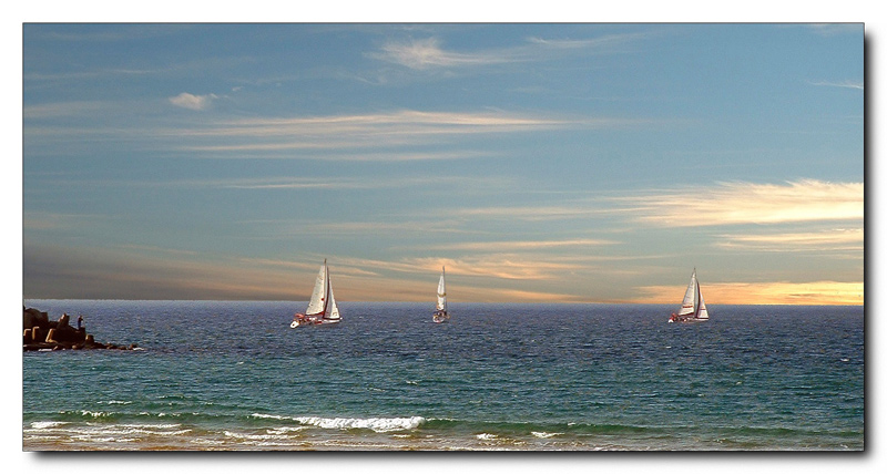 "photo ""Quintessence of romanticism"" tags: landscape, sport, water"