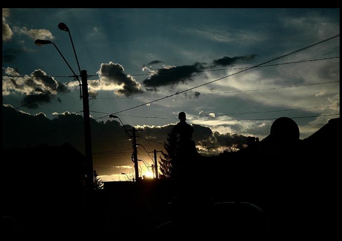 """фото """"Cityscape silhouettes"""" метки: репортаж,"""