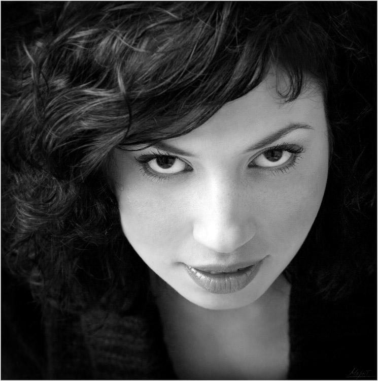 """фото """"ОЧИ ЧЕРНЫЕ..."""" метки: портрет, черно-белые,"""