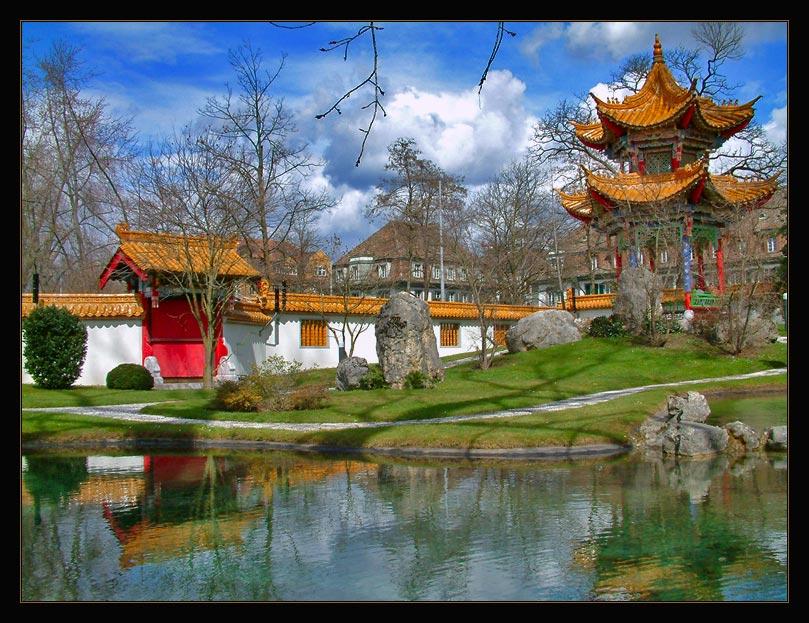 """photo """"China Garten Zurich"""" tags: travel, Europe"""