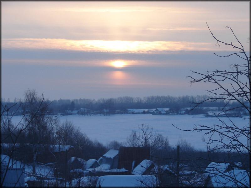 "фото ""God's eye"" метки: пейзаж, закат"