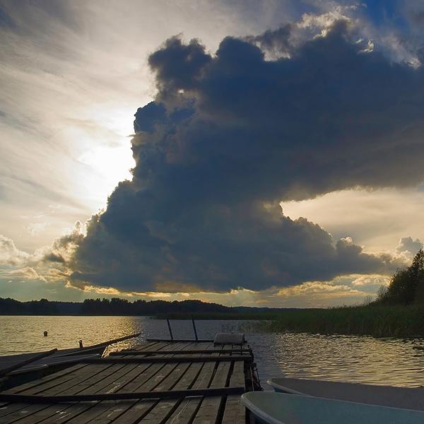 """фото """"Силы небесные"""" метки: пейзаж, закат"""