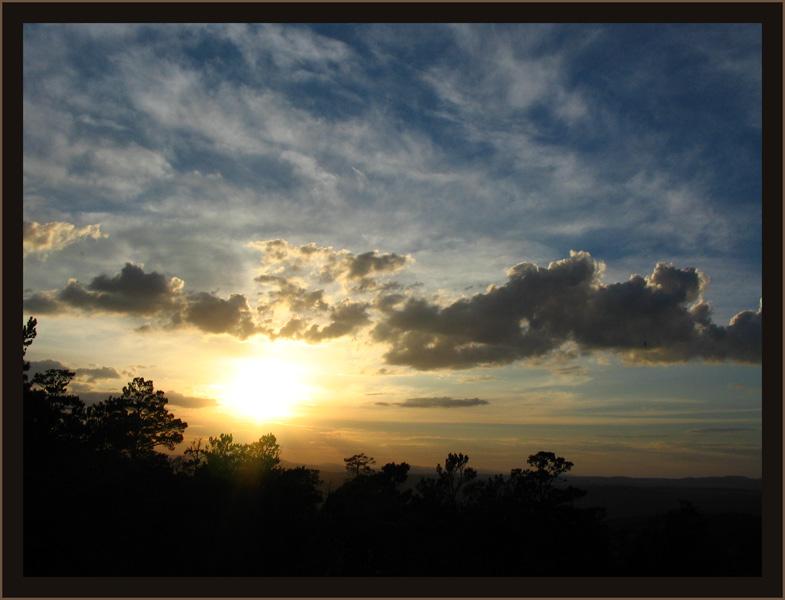 """фото """"Уходящее солнце"""" метки: пейзаж, закат"""