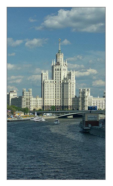 """фото """"Московские зарисовки - ***"""" метки: архитектура, пейзаж, лето"""