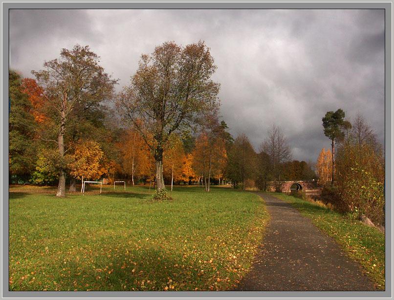 "photo ""Autumn in city"" tags: landscape, autumn"