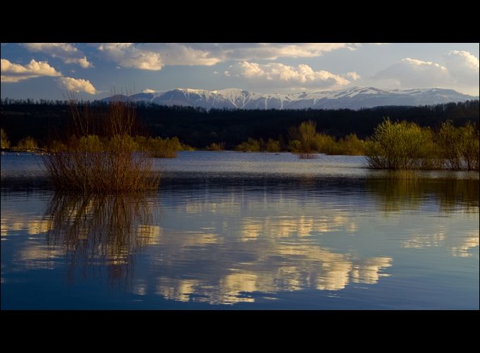 "photo ""To the Mountains"" tags: landscape, mountains, water"
