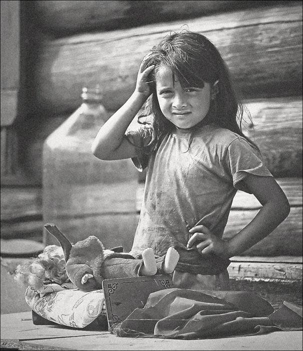 "photo ""Alena"" tags: portrait, children"