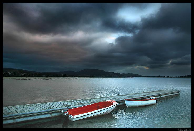 "фото ""Strange calmness"" метки: пейзаж, закат"