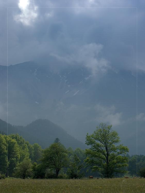 "photo ""Mountains far away, mountains foggy, mountains..."" tags: landscape, mountains, summer"