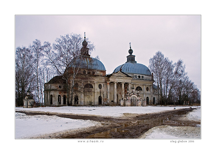"photo ""Village Yaropolec"" tags: architecture, landscape,"