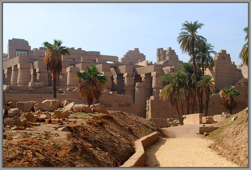 "photo ""Karnak"" tags: architecture, travel, landscape, Africa"