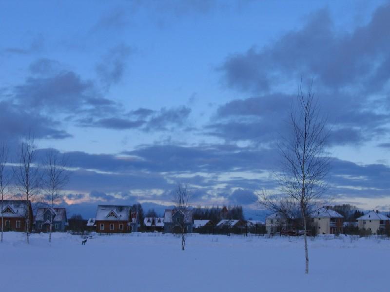 "фото ""Зимнее небо...зимняя сказка"" метки: пейзаж, зима"
