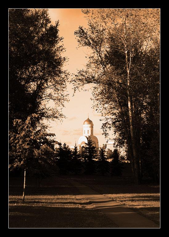 """фото """"На Поклонной горе..."""" метки: архитектура, пейзаж,"""