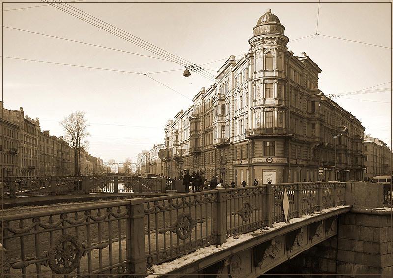 """фото """"У Кокушкина моста"""" метки: архитектура, пейзаж,"""