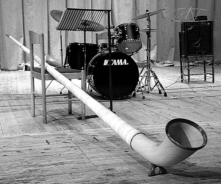"photo ""Mozart+Jazz"" tags: still life, black&white,"
