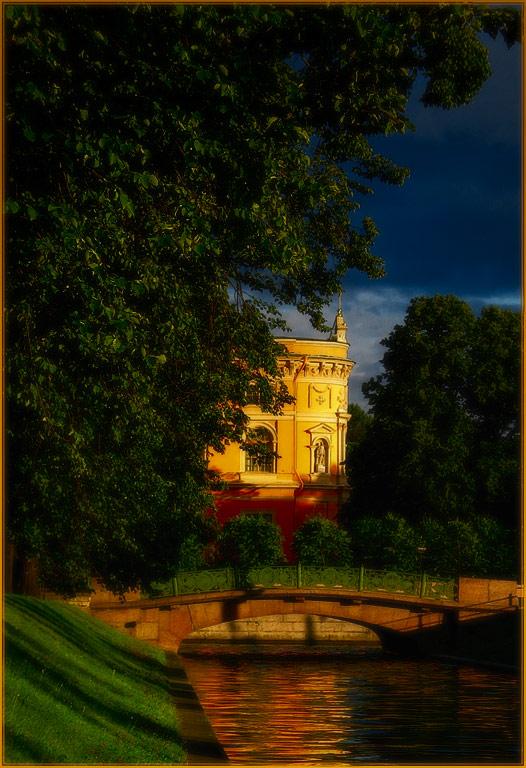 "фото ""Петербург.Лето.Вечер 2."" метки: архитектура, пейзаж,"