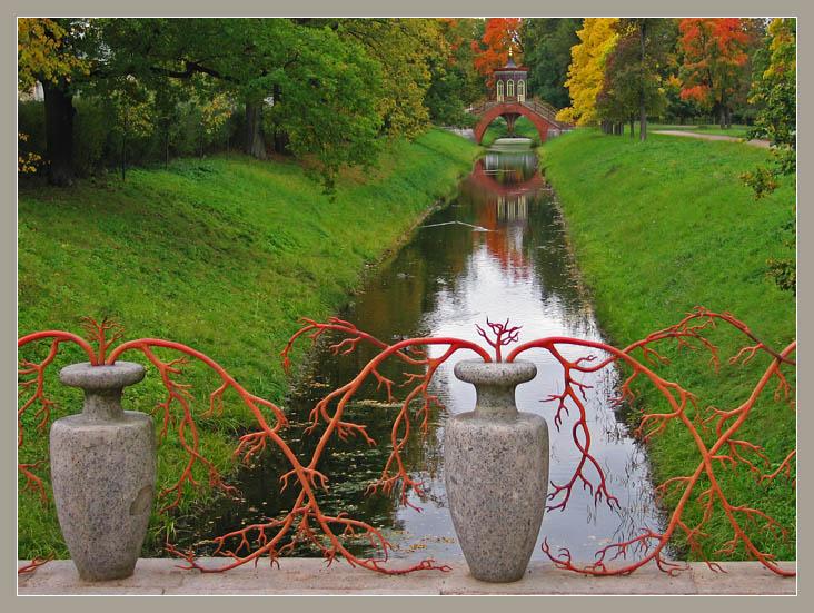 """фото """"Осень в парке"""" метки: архитектура, пейзаж, осень"""